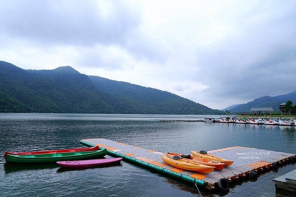 花蓮-鯉魚潭遊客中心、泛舟、遊潭、騎單車