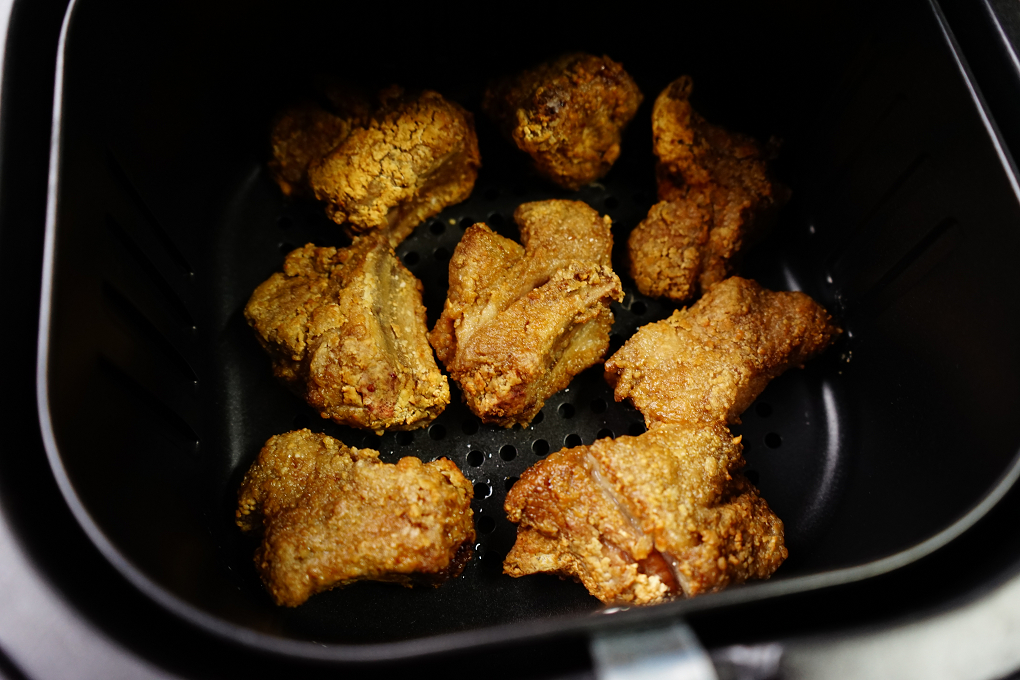 小排,排骨,排骨酥,梅花排,氣炸排骨,氣炸排骨酥,氣炸料理,氣炸食譜,炸排骨,豬排骨,醃漬排骨,香酥排骨