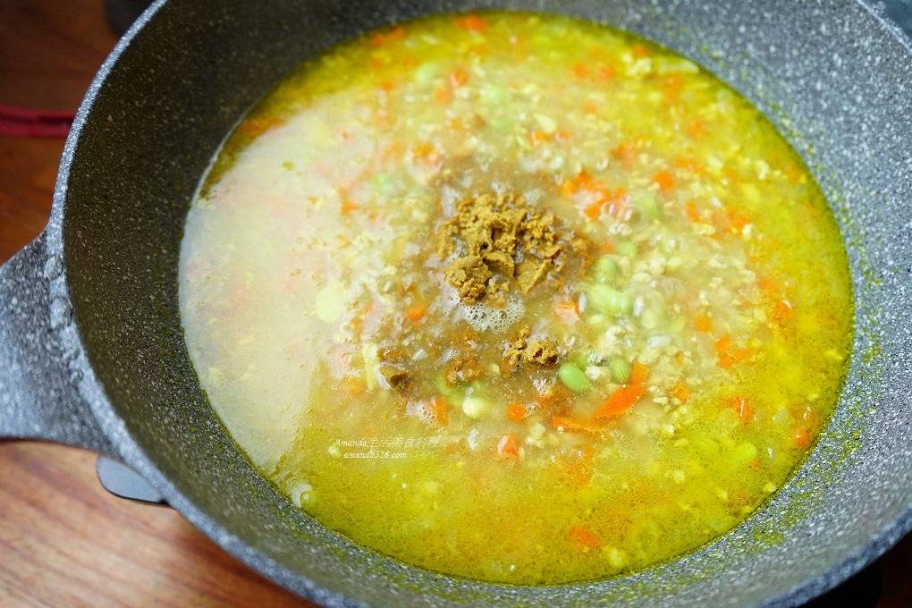 一鍋煮,咖哩醬,常備菜,毛豆,燴飯,肉燥,肉醬