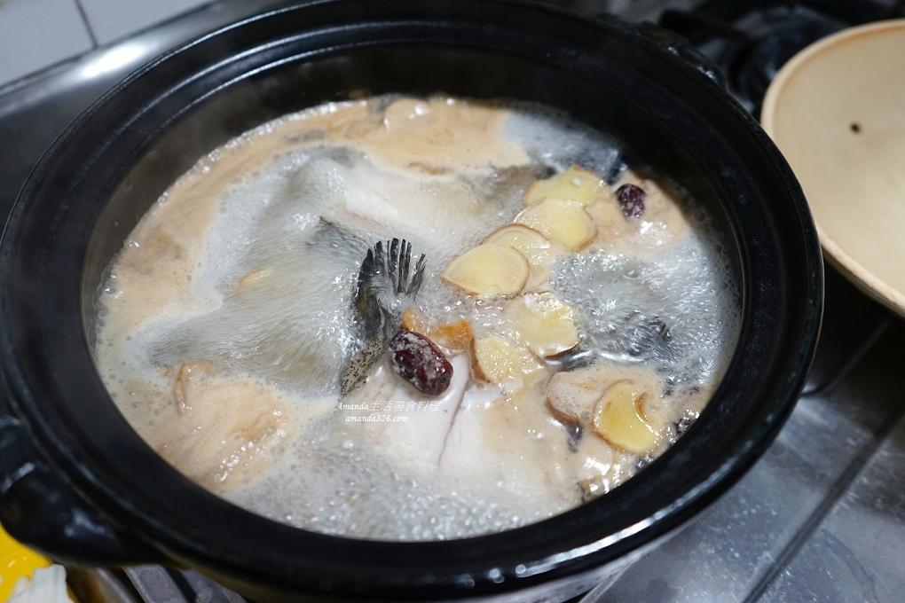 火鍋,石斑魚,魚鍋,鮮魚鍋,麻油薑