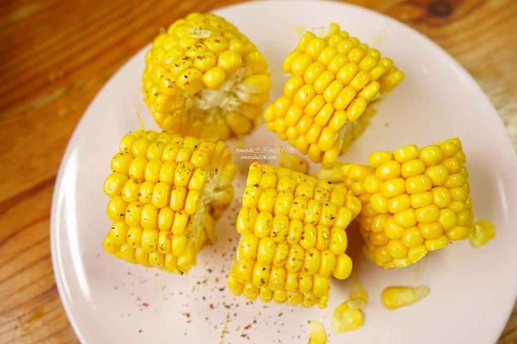 奶油玉米,氣炸奶油玉米,氣炸鍋奶油玉米,氣炸鍋料理,氣炸鍋食譜,烤玉米,烤箱料理,胡椒玉米,蒸玉米,香料奶油玉米