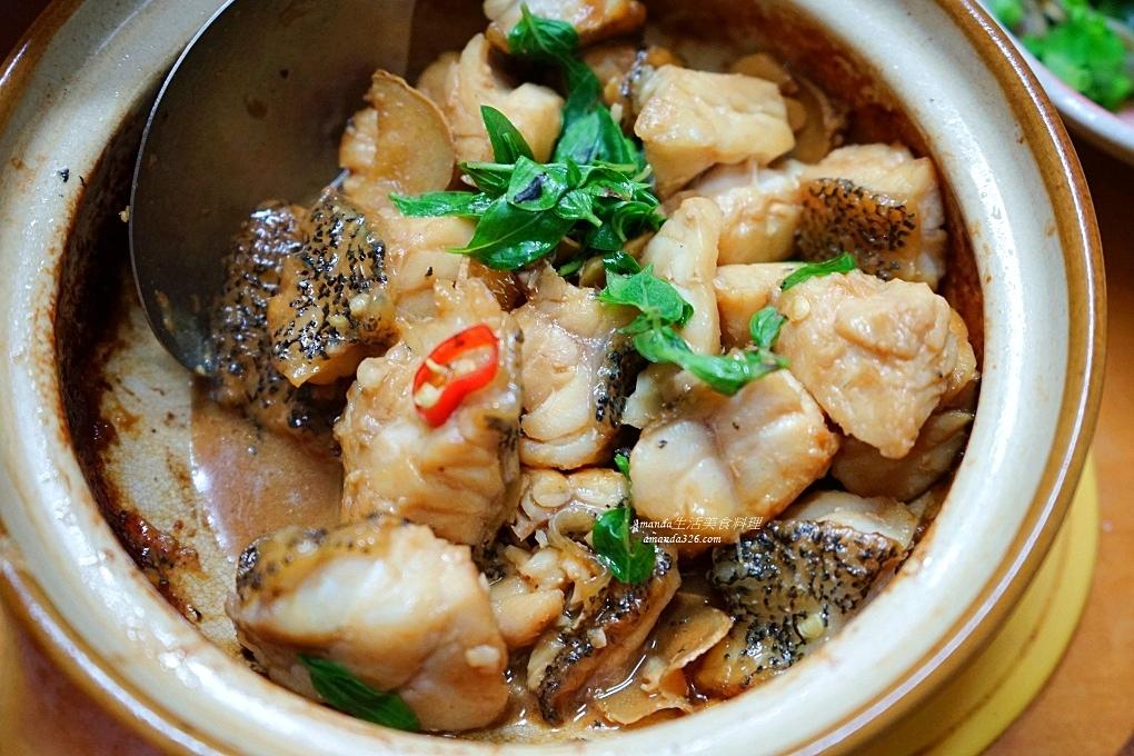 三杯,三杯石斑,三杯鮮魚,三杯龍虎斑,便當菜,十分鐘上菜,十分鐘料理,台灣石斑,海鮮,石斑魚,鮮魚料理,龍虎斑,龍虎石斑