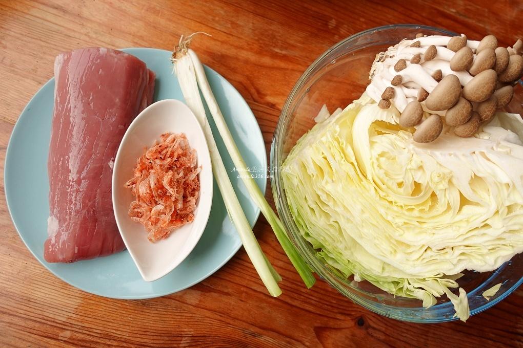 拌飯,炊飯,無毒米,營養米,胭脂米,電子鍋料理,電鍋料理,高麗菜飯