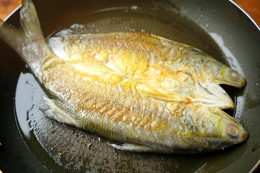 一夜干,一夜干料理,午仔魚一夜干,油煎一夜干,煎魚,鮮魚料理