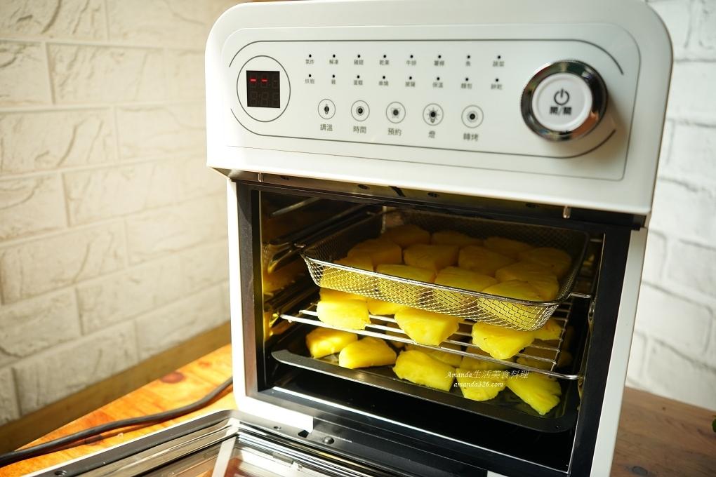 果乾機,氣炸果乾,氣炸烤箱,氣炸烤箱 果乾,氣炸烤箱果乾,水果乾,電鍋烘果乾,鳳梨,鳳梨乾,鳳梨料理,鳳梨果乾