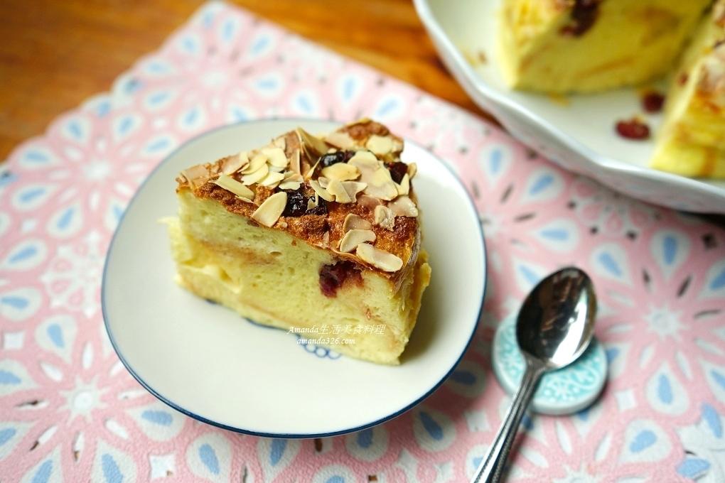 吐司蛋糕,氣炸料理,氣炸鍋,氣炸食譜,甜品,甜點,莓果蛋糕