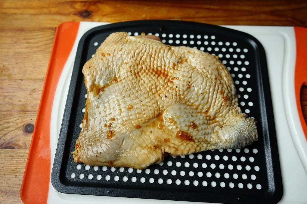 氣炸料理,氣炸烤箱,氣炸烤箱料理,氣炸雞排,氣炸雞腿,氣炸雞腿排,氣炸食譜,烤雞腿,雞腿排,雞腿醃漬