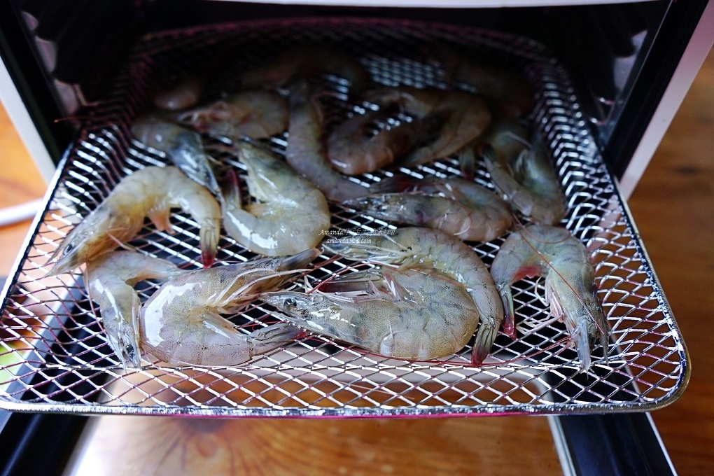 10分鐘上菜,10分鐘料理,10分鐘食譜,氣炸料理,氣炸烤箱,烤蝦,香酥蝦,鹹酥蝦