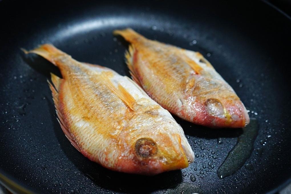 不沾鍋,不沾鍋煎魚,油煎魚,海魚,煎魚,赤宗魚,赤鯮魚