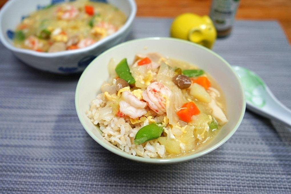 蝦仁雜菜燴飯