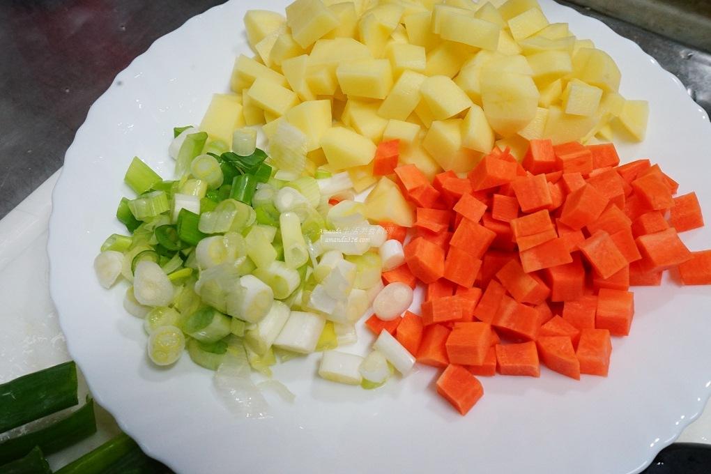 海鮮燴飯,燴飯,蝦仁燴飯,雜菜燴飯,高麗菜燴飯