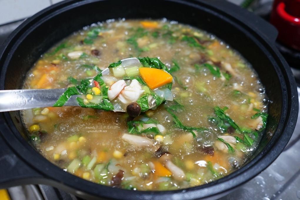 蔬菜鮮蝦燴飯 一鍋煮不換鍋