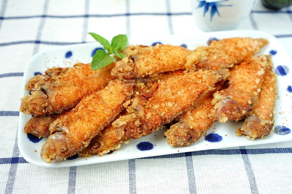 酥炸紅新娘 澎湖海鮮美食
