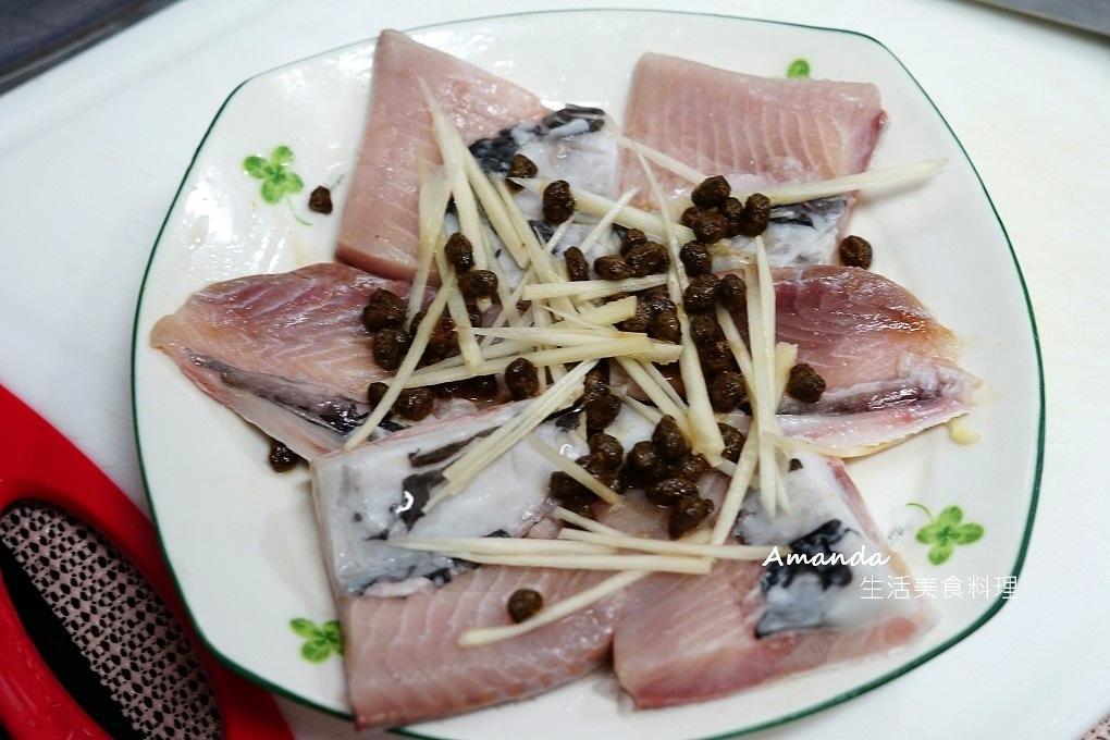 清蒸虱目魚,清蒸虱目魚肚,清蒸魚,清蒸魚肚,蔭豉蒸魚,豆豉蒸魚,電鍋料理