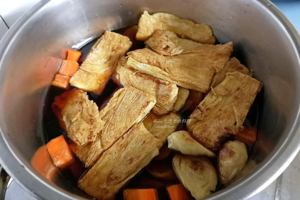 滷味,滷海帶,滷豆包,滷豆皮,滷香菇,滷麵腸,生豆包,生豆皮,素滷味,素食,素食滷味,豆包料理,豆皮料理