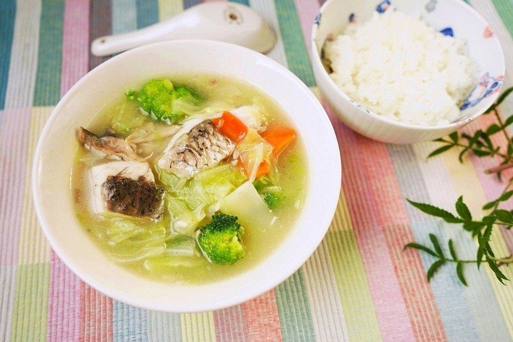 鱸魚蔬菜燴飯