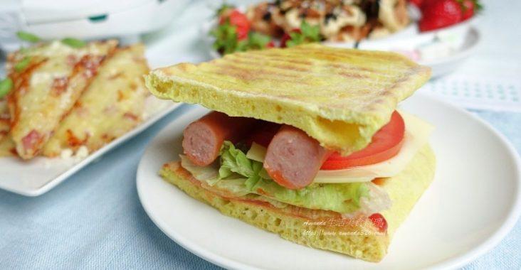 帕尼尼,帕尼尼三明治,帕尼尼做法,帕尼尼怎麼做,熱狗三明治,熱狗起司三明治,自製帕尼尼 @Amanda生活美食料理